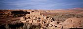 Kasbah at Kelaa M gouna area. Dades Valley. High Atlas. Morocco