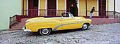 American car. Trinidad. Sancti Spiritus region. Cuba