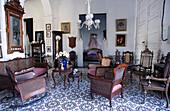 Colonial house interiors. Trinidad. Sancti Spiritus Province. Cuba