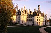 Chambord Castle. Val-de-Loire, France