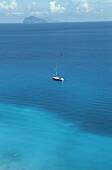 Est coast. Lipari Island. Eolie Island. Sicily. Italy.