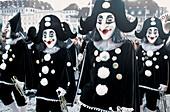 Traditional carnival. Basel. Switzerland