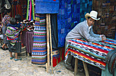 Sunday market of Chichicastenango. Guatemala
