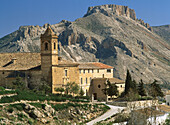 Almeria province, Andalucia, Andalusia, Architecture, Color, Colour, Convent, Convents, Daytime, Europe, Exterior, Horizontal, Mountain, Mountains, Nunneries, Nunnery, Outdoor, Outdoors, Outside, Religion, San Luis, Spain, Town, Towns, Travel, Travels, V