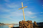 Graves. Spitsbergen. Norway