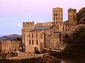 Monastery of Sant Pere de Rodes in Cap de Creus. Alt Emporda. Girona province. Catalonia. Spain