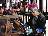 Zhuang ethnic group handicrafts. China.