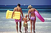 ir mattresses, Airbed, Airbeds, Amusement, Back view, Beach, Beaches, Boy, Boys, Child, Children, Col