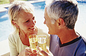 rs, 50-60 years, Adult, Adults, Alcohol, Alcoholic drink, Alcoholic drinks, Bond, Bonding, Bonds, Caucasian, Caucasians, Celebrate, Celebrating, Celebration, Celebrations, Champagne, Color, Colour, Co