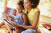 n, African-American, Afro American, Afro-American, At home, Book, Books, Child, Childhood, Children