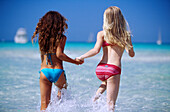hildren, Children only, Clear, Color, Colour, Contemporary, Dark-haired, Daytime, Exterior, Fair-hair