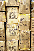 Background, Backgrounds, Box, Boxes, Brown, Cardboard, Color, Colour, Concept, Concepts, Economy, Freight transportation, Heap, Heaped, Load, Many, Package, Packages, Parcel, Parcels, Pasteboard, Pile, Piled up, Piles, Shipping, Stack, Stacked, Stacks, V