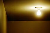 Ceiling, Ceilings, Color, Colour, Concept, Concepts, Corner, Corners, Detail, Details, Electricity, Energy, Horizontal, Illumination, Indoor, Indoors, Inside, Interior, Light, Light bulb, Light bulbs, Lightbulb, Lightbulbs, Lighting, One, Power, Room, Ro