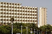 Hotels. Magaluf, Palmanova, Calvià area coast. Majorca, Balearic Islands. Spain