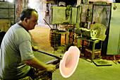 Gordiola glass factory, Algaida. Majorca. Balearic Islands. Spain