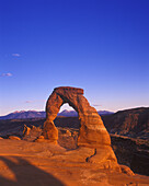 Scenic delicate arch, Arches national park, Utah, USA.