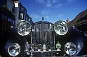 Jaguar car / automobile, England, UK