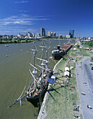 Tall ships, International park, Toledo, Ohio, USA.