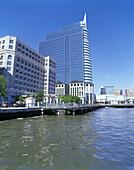 Financial district, Jersey City, New Jersey, USA.