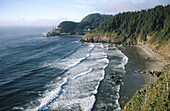 Heceta Head Lighthouse. Oregon Coast, USA