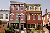 Virginia, Richmond, Jackson Ward, East Clay Street, African American community, architecture