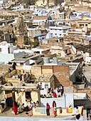 Cityscapes of Bundi, Rajasthan, India