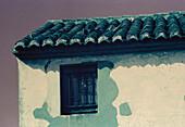 Detail of typical house. Albufera. Valencia. Spain