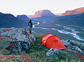 Sarek National Park. Lapland. Sweden