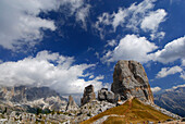 Cinque Torri, Dolomites, Cortina d´Ampezzo, Venezia, Italy