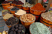 spices at local market, Luxor, Egypt, Africa