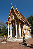 Buddhist Temple in Khao Yai National Park, Thailand