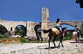 12th Century town of Besalú, Catalonia, Spain