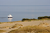 Big dune in Nida, (Nidden), Curian spit, Lithuania