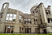 Genbaku Dome or A-Bomb Dome (added to Unesco s World Heritage List in 1996, Historic site under the Japanese Cultural Properties Protection Art). Hiroshima City, Hiroshima Prefecture. Japan