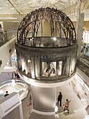 Reproduction of A-Bomb Dome. Peace Memorial Museum. Hiroshima City, Hiroshima Prefecture. Japan