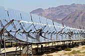 Harper Lake Solar Power Plant in Barstow, Southern California