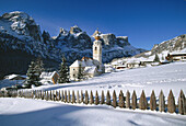 Colfosco. Val Badia. Dolomites. Italy