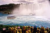 Tourist in the Niagara Falls. Canada