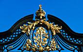 Iron gate detail, St. James s Park. London. England