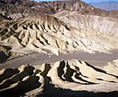 Zabriskie Point, Death Valley National Park. California, USA
