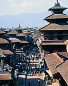Durbar square. Patan. Kathmandu valley. Nepal.