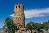 The Watchtower. Grand Canyon National Park. Arizona. USA