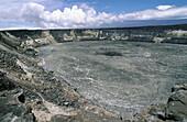 Halema uma u Crater. Hawaii Volcanoes National Park. The Big Island. Hawaii. USA