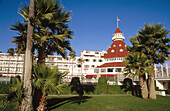 Hotel del Coronado (1888) in Coronado Island (National Historic Landmark), San Diego county. California. USA