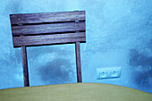 Back, Backs, Chair, Chairs, Close up, Close-up, Closeup, Color, Colour, Concept, Concepts, Detail, Details, Furniture, Horizontal, Indoor, Indoors, Interior, Table, Tables, Wall, Walls, Wood, Wooden, CatV9, G85-613881, agefotostock