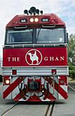 The Ghan Transcontinental passenger train Adelaide to Darwin. Australia