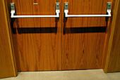 Bar, Bars, Closed, Color, Colour, Concept, Concepts, Detail, Details, Door, Doors, Horizontal, Indoor, Indoors, Inside, Interior, Safety, Security, Shut, Wood, Wooden, G96-216003, agefotostock