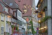 Half-timbered houses. Sommerhausen. Unterfranken, Germany