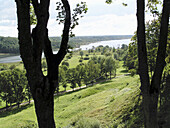 View to the Lake Viljandi, Middle-Estonia. The lake is situated right in the neighbourhood of the town Viljandi, the administrative centre of the County.