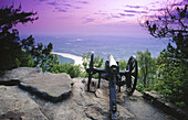 Cannon. View from Point Park on Lookout Mountain. Chattanooga. Tennessee. USA